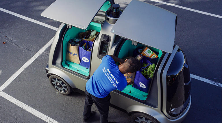 Kroger Driverless Car