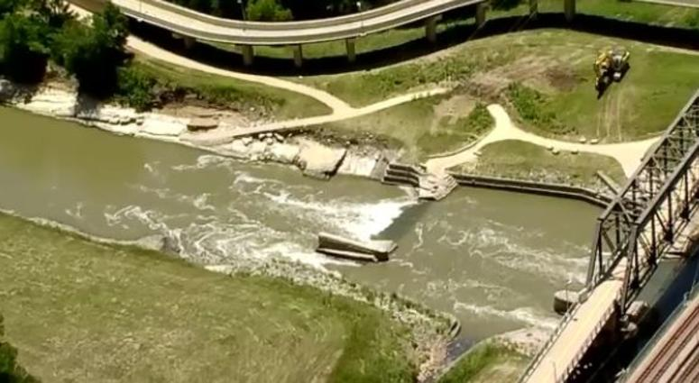 Standing Wave In Trinity River