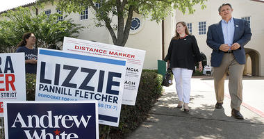Lizzie Pannill Fletcher, a Democrat candidate for the 7th Congressional District