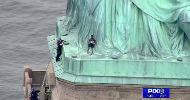 Statue of Liberty Protest