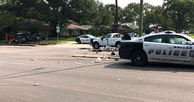 Dallas Police Crash