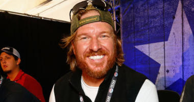 'Fixer Upper' star and honorary pace car driver Chip Gaines attends the Driver/Crew Chief Meeting prior to the Monster Energy NASCAR Cup Series AAA Texas 500 at Texas Motor Speedway on November 5, 2017 in Fort Worth, Texas