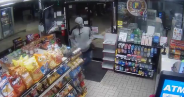 Bandits Use Bear Spray in Gas Station Robbery