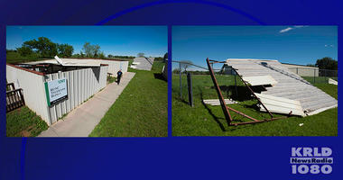 Storm Rips Roofs Off UNT Observatory