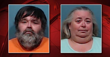 Daniel Tilbe, left, and Jeanette Tilbe, right, were arrested and charged with aggravated sexual assault of a child.