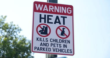 Hot Car Heat Warning