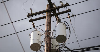 Distribution transformers and power lines