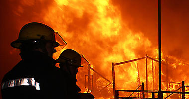 Chemical Plant Fire