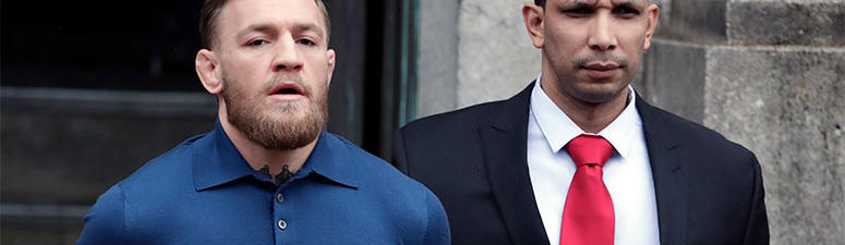 Ultimate fighting star Conor McGregor