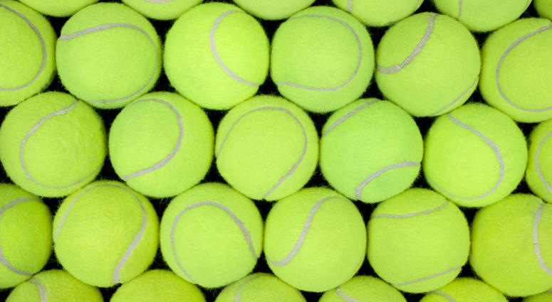 Yellow Or Green? There's Controversy Over The Color Of Tennis Balls on medium sea green, mint green, shades of green, medium spring green, metallic green, pink navy green, mixed green, spring green, natural green, hooker's green, white green, peachy green, aquamarine green, chestnut brown green, grey green, bronze green, orange green, purple green, lime green, olive drab green, chartreuse green, puce green,