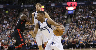 Dallas Mavericks guard Dennis Smith Jr.