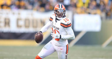 Cleveland Browns quarterback Robert Griffin III
