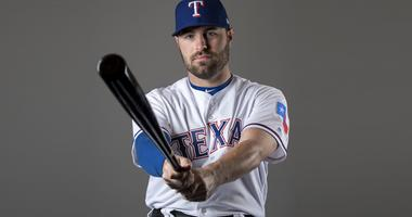 Texas Rangers catcher Curt Casali