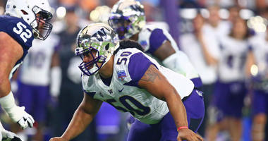 Washington Huskies defensive lineman Vita Vea
