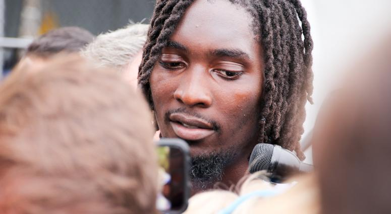 Demarcus Lawrence At 2018 Dallas Cowboys Training Camp
