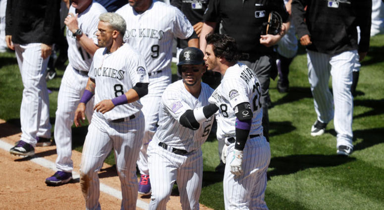 Colorado Rockies' Nolan Arenado
