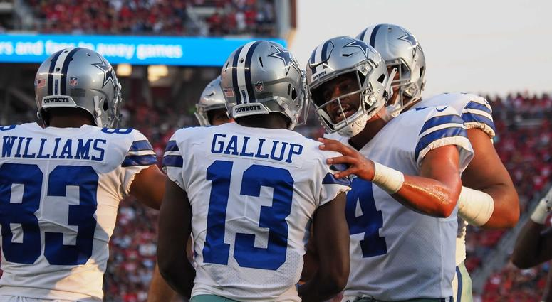 Late Touchdown Gives 49ers 24-21 Win Over Cowboys  98c069de9