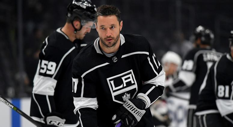 Los Angeles Kings left wing Ilya Kovalchuk