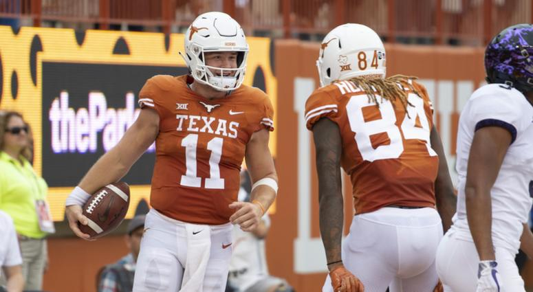 Longhorns Red Raiders Join Top 25 105 3 The Fan