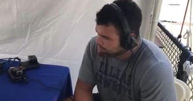 Connor Williams With Ben & Skin at Cowboys Camp