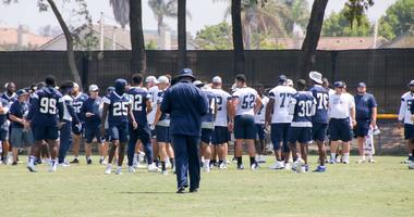 Tyron Smith and La'el Collins Join The GBAG Nation At Cowboys Camp