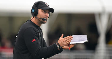 Texas Tech Red Raiders head coach Kliff Kingsbury