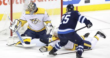 Nashville Predators at Winnipeg Jets