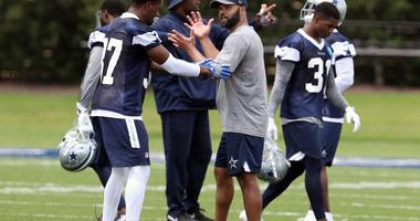 Dallas Cowboys defensive backs coach Kris Richard