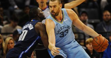 Dallas Mavericks at Memphis Grizzlies