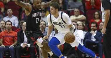 Dallas Mavericks at Houston Rockets