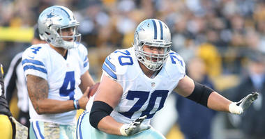 Dallas Cowboys guard Zack Martin