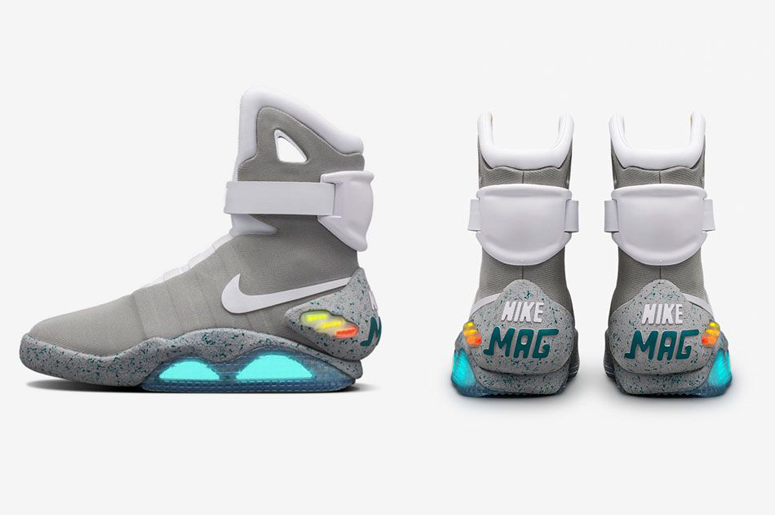 Back To The Future Inspired Nike Shoes Benefit Parkinson s Research ... a44443e7ac09
