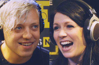 "Robert Delong & K.Flay Play ""Say What"" in The ALT 103.7 Performance Showroom"