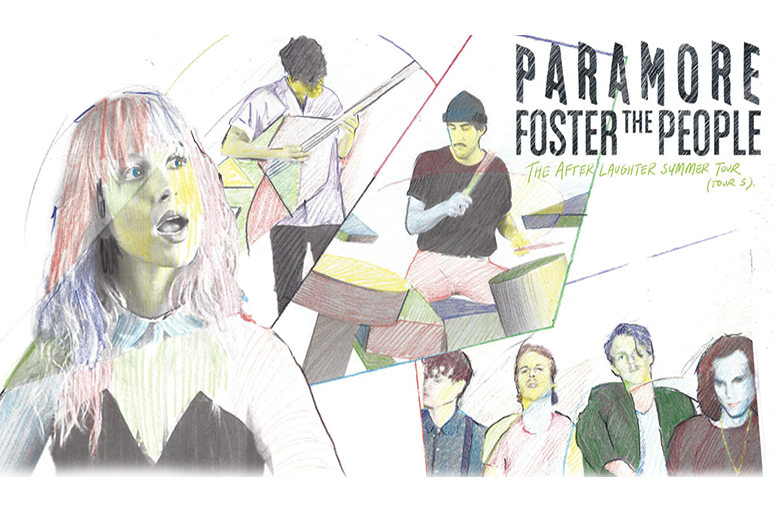 Paramore And Foster The Peple, The After Laughter Tour
