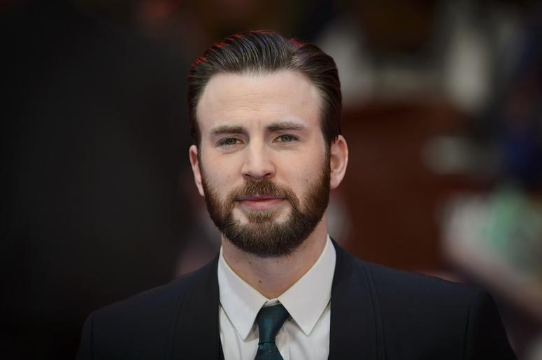 chris evans is getting trolled for his mustache nicknamed captain