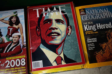 President Barack Obama on the cover of TIME Magazine