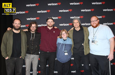 KONGOS Meet & Greet in The Verizon Artist Lounge