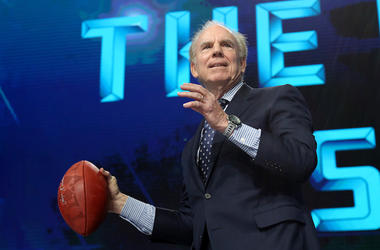 Roger Staubach, NFL Draft, Football, AT&T Stadium, 2018