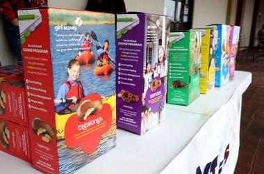 Girl Scouts, Cookies, Boxes, Tagalongs, Samoas, 2016