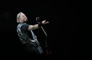 James Hetfield, Metallica, Posing, Concert, El Paso, Don Haskins Center, 2019