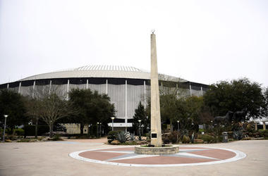 Houston, Astrodome, Exterior