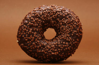 Doughnut, Chocolate, Nuts