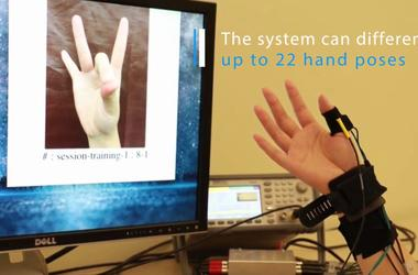 FingerPing: Recognizing Fine-grained Hand Poses using Active Acoustic On-body Sensing