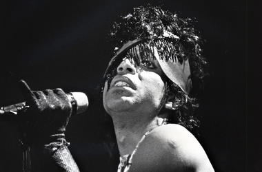 Prince, Singing, Holding Microphone