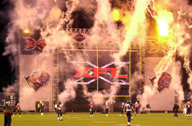 XFL, Field, Fire, Orlando, 2001, Football