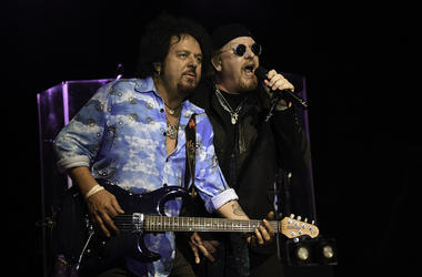 Steve Lukather, Joseph Williams, Toto, Concert, 2018