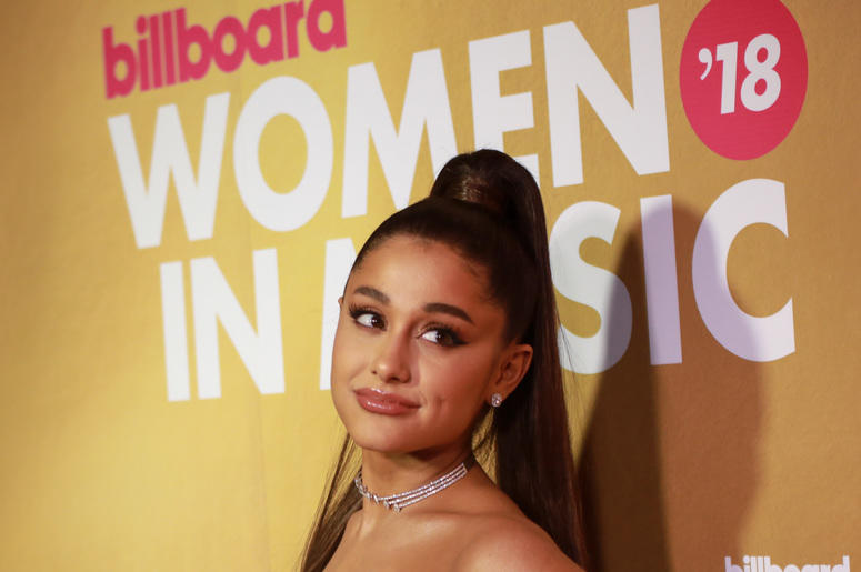 Ariana Grande Posts Photo Of New Tattoo That Translates To Small