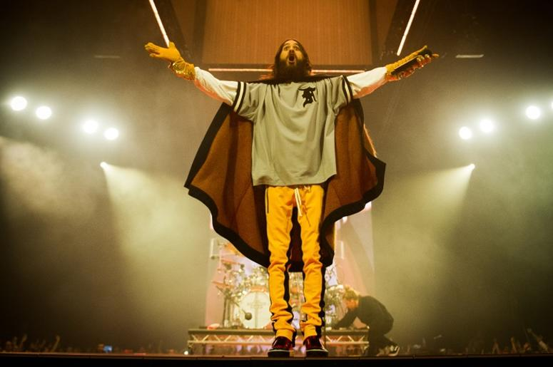 Jared Leto is currently touring with Thirty Seconds to Mars