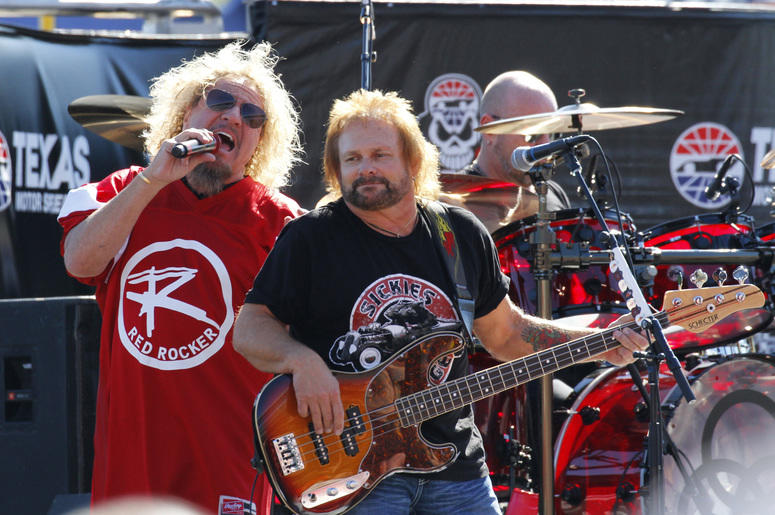 1c9442318d7 Sammy Hagar Michael Anthony