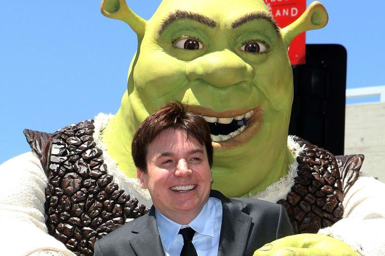 Mike Meyers And Shrek